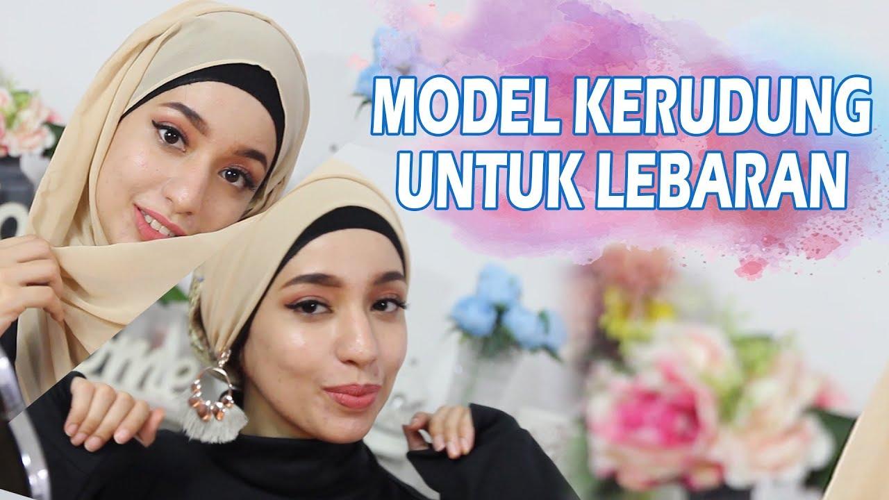 tutorial hijab untuk lebaran - youtube