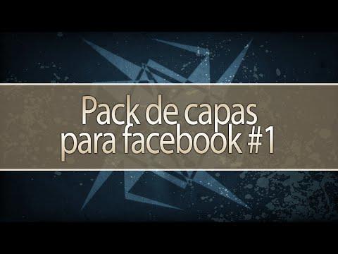 Pack de Capas para facebook - Masculina e feminina