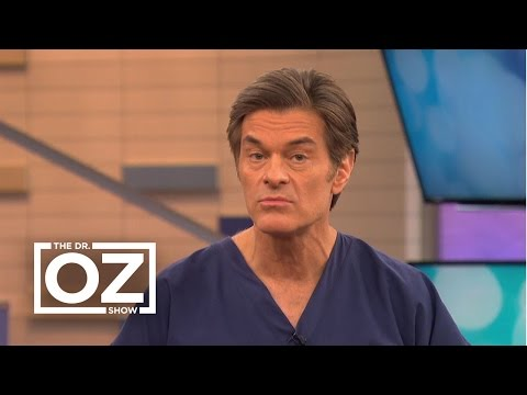 Dr. Oz Explains the Syptoms of Ovarian Cancer