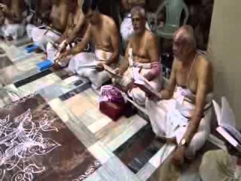 Bashykarar Thirunakshtram(Pt.5) Sevakalam Reciting Yathiraja Sapthathi  Mumbai Krishna sabha
