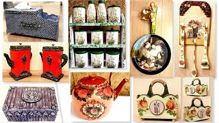 DIY/ 8 Best Kitchen decorating ideas from recycled materials