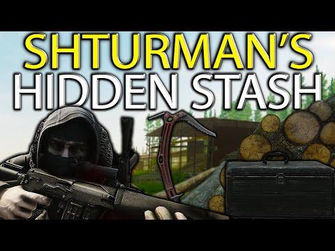 Shturman's Stash Unlocked 50 Times Is It Worth It? - Hidden Stash Location Woods- Escape From Tarkov