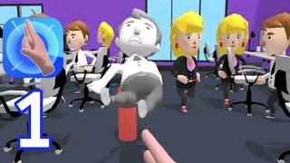 Flick master 3D - Walkthrough Gameplay All Levels 1-10[Part 1] screenshot 2