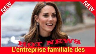 L'entreprise familiale des Middleton en difficulté : pourquoi cela n'arrange pas Kate