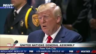 AMERICA FIRST: President Trump FULL United Nations General Assembly Speech - 2019