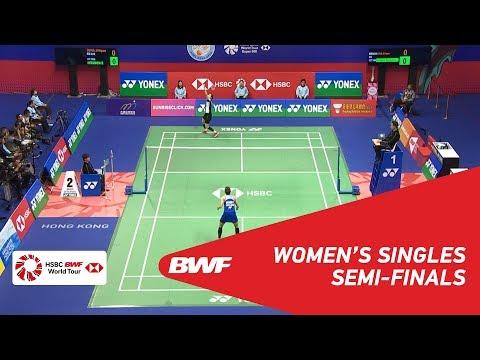 SF | WS | SUNG Ji Hyun (KOR) vs Ratchanok INTANON (THA) [6] | BWF 2018