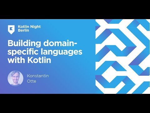Building domain-specific languages with Kotlin