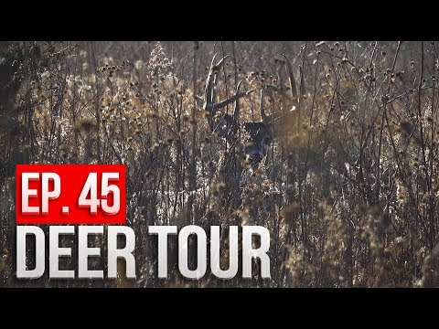 3 HOUR ENCOUNTER with a BIG BUCK! - DEER TOUR E45