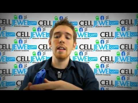 CellJewel.com - HTC Desire C /Wildfire C /Golf Blue Hybrid Case