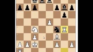 Как не надо играть в блиц шахматы. Не иди на незнакомый вариант в блиц