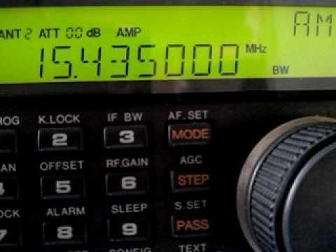 Radio Saudi Riyadh SAUDI ARABIA - 15435 kHz