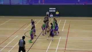 2015 九龍東區小學分會籃球比賽(女子組) 四強賽 協恩 vs 藍田循道衛理