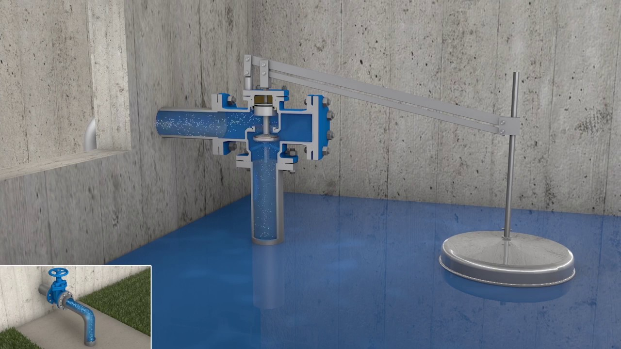 CSA ATHENA equilibrium ball float valve - YouTube