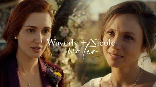 wynonna earp  waverly and nicole • water (+4x12)
