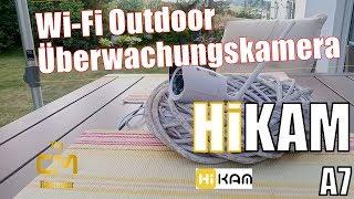 HiKAM A7 Test: IP Überwachungskamera Outdoor - kostenlose deutsche ...