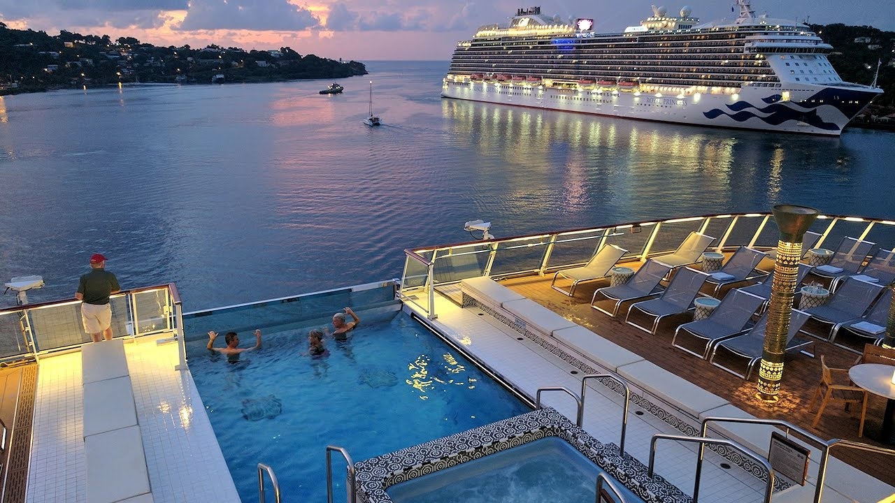 136 day of luxurious living on cruise