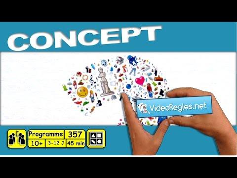 La Vidéorègle du jeu de société Concept par Yahndrev (#357) (+sub)