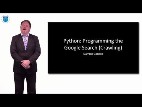 Python: Programming Google Search (Web Crawling)
