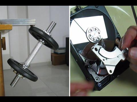 Cómo obtener un par de poderosos imanes de un disco duro que ya no sirva