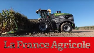 Krone Big X 1180 : la plus grosse ensileuse du monde en action