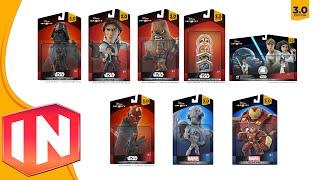 Disney Infinity 3.0 - Wave 2 & 3 Figures & Release Date Information