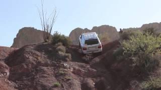 Box Canyon, Az Dodge Ram, Land Cruiser 100, and Isuzu Trooper