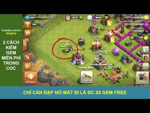 2 cách kiếm Gem miễn phí trong Clash of Clans
