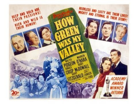 How Green Was My Valley (1941) Walter Pidgeon and Maureen O'Hara
