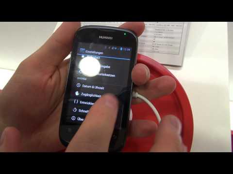 Huawei Ascend Y 201 Pro, prise en main à l'IFA 2012 - par Test-Mobile.fr