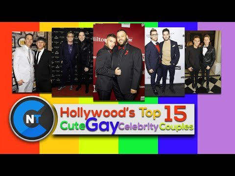 Hollywood's Top 15 Cute Gay Celebrity Couples Who Are Engage OR Married | Famous Gay Couples 2018