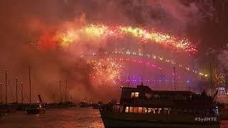 Welcome to 2018! Màn bắn pháo hoa hoành tráng đầu tiên tại Sydney chào đón năm mới 2018 (Full HD)