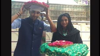 Qaidi Band's Aadar Jain & Anya Singh visit Ajmer Sharif Dargah