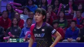 2016 Women's World Cup (Final Gold) HIRANO Miu - CHENG I-Ching [Full Match/English HD]