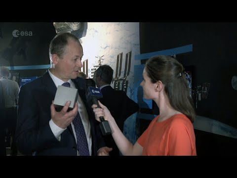 David Parker interview at Le Bourget