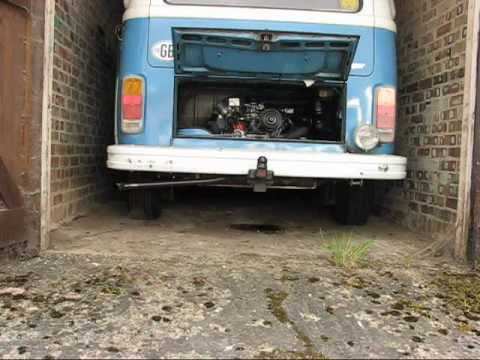 VW Camper 1600 Aircooled Engine - 1st start in 10 months