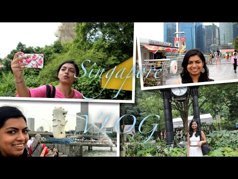 SINGAPORE VLOG - 2  MARINA BAY SANDS, BOTANICAL GARDEN, LITTLE INDIA, S'PORE ZOO (EP 64)