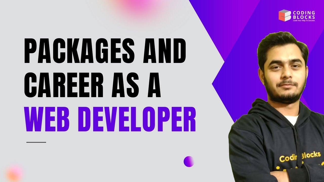 Packages and Career as a Web Developer