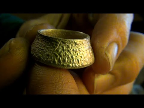 Annealing coin rings how hot is too hot