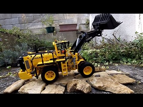 new lego technic 42030 rc volvo outdoor test youtube. Black Bedroom Furniture Sets. Home Design Ideas