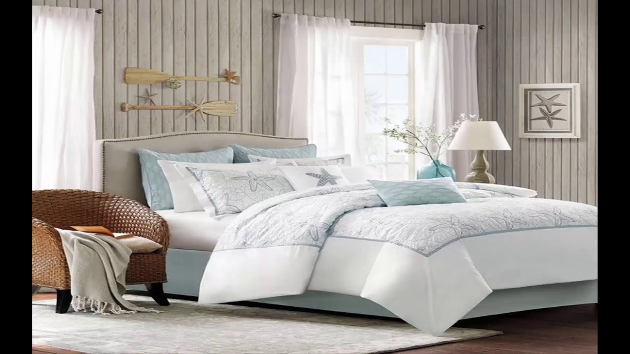 Awesome Coastal Bedroom Design Ideas | Beachy Master ...