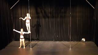 First Place - Duo - Belgian Pole Dance Championship 2018