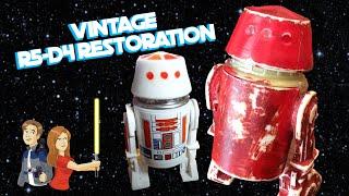 Star Wars Vintage R5-D4 Restoration Kenner 1979