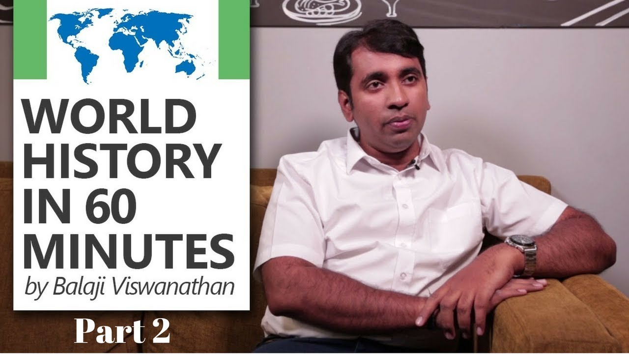 World History in 60 minutes by Balaji Viswanathan [World's Top Quora  Writer] (Part 2/2)