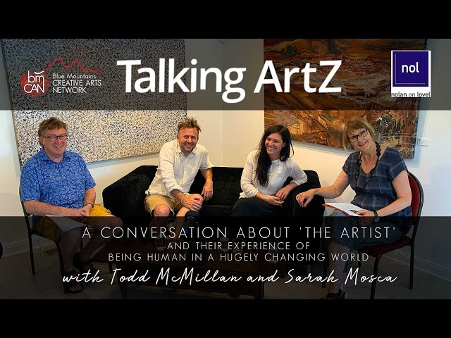 Talking ArtZ Episode 15 | Feb 01 2020 | Todd McMillan and Sarah Mosca