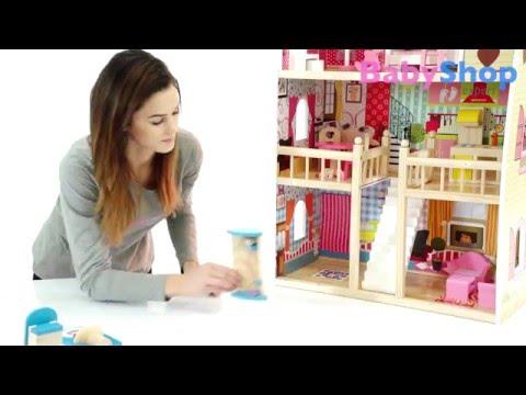 Puppenhaus Aus Holz Himbeerrote Residenz: Montage - Babyshop.expert