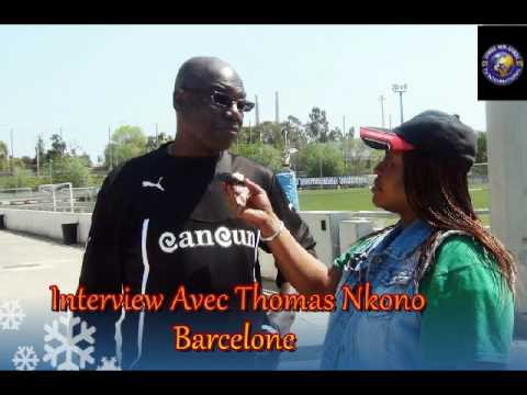 Interview Avec ancien Gardien du Cameroun -Thomas Nkono a Barcelone