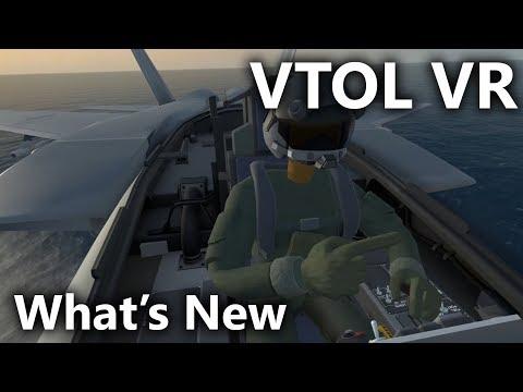 VTOL VR - Whats New