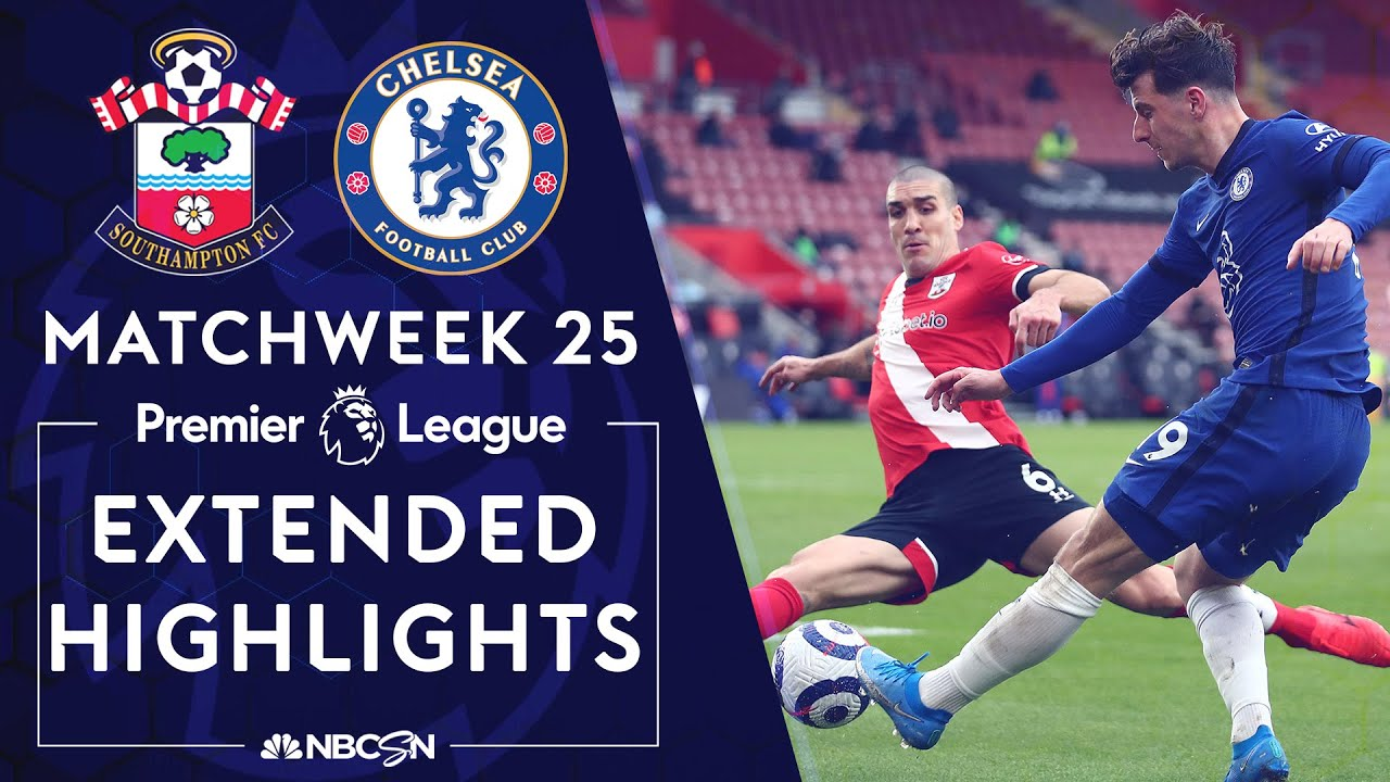 Southampton v. Chelsea | PREMIER LEAGUE HIGHLIGHTS | 2/20/2021 | NBC Sports