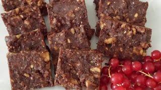 #Receta 5# Brownies crudiveganos! Vale la pena probarlos! thumbnail