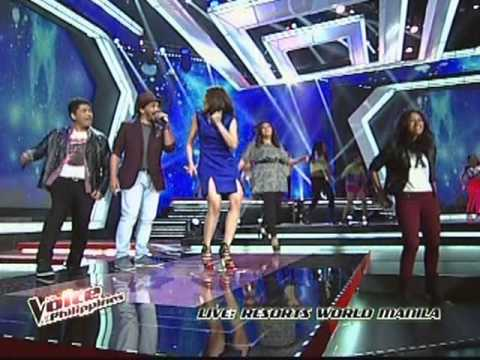 Coach Sarah Geronimo w/ The Voice Philippines Artists 'ROAR' Live Performance